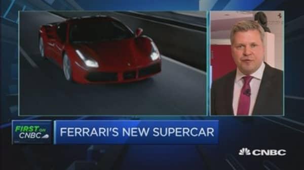 Ferrari's new supercar unveiled in Singapore