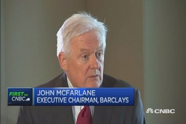 This is why Barclays CEO was let go: Chair