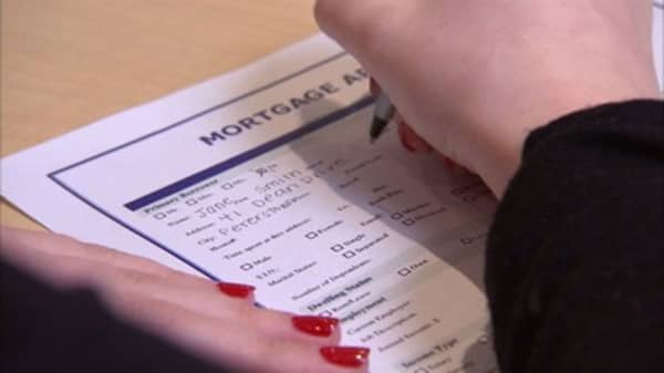 Mortgage applications tick up