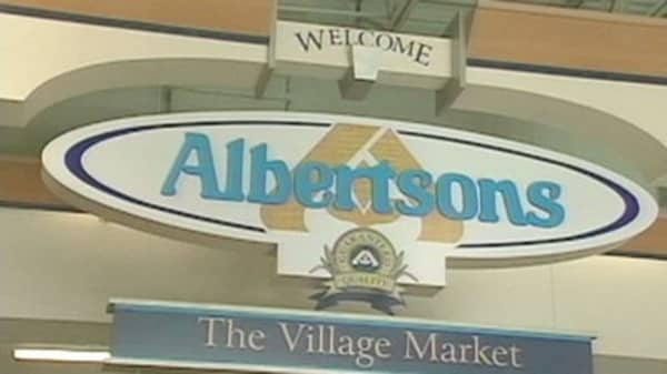 Albertsons struggling to sell ipo