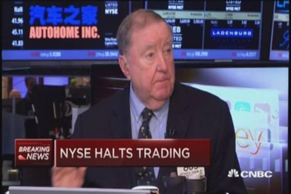 Cashin on NYSE glitch