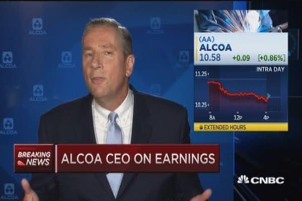 Alcoa's Kleinfeld: Strong quarter