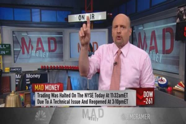 Cramer's advice after the NYSE trading debacle