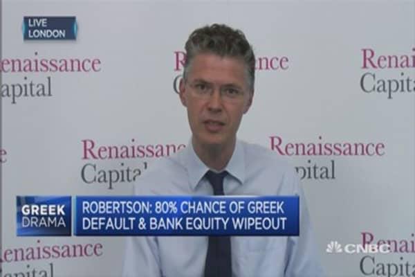 Greek default is 'a given': Economist
