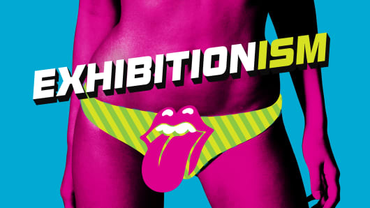 "The Rolling Stones' ""Exhibitionism"" poster (Original design)"
