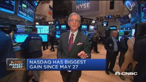 Pisani's market open: Smooth open at NYSE