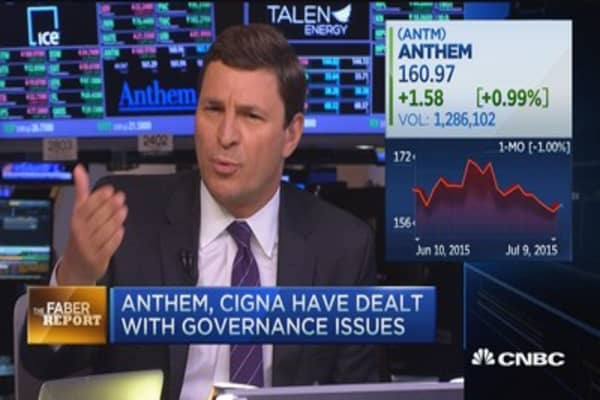 Faber Report: Antitrust issues for Cigna-Anthem