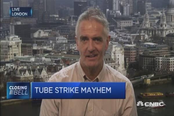 London Tube workers go on strike