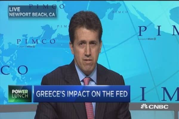 Greece worries the Fed