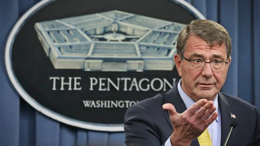 Secretary of Defense Ashton Carter