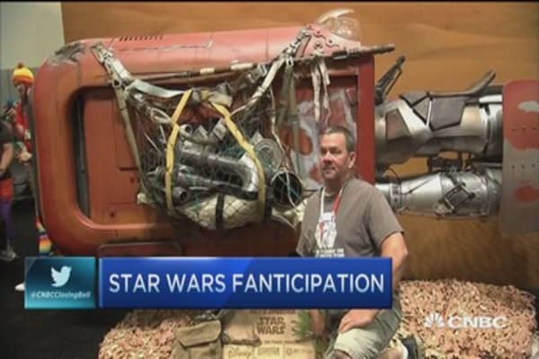 Comic-Con: 'Star Wars' fanticipation