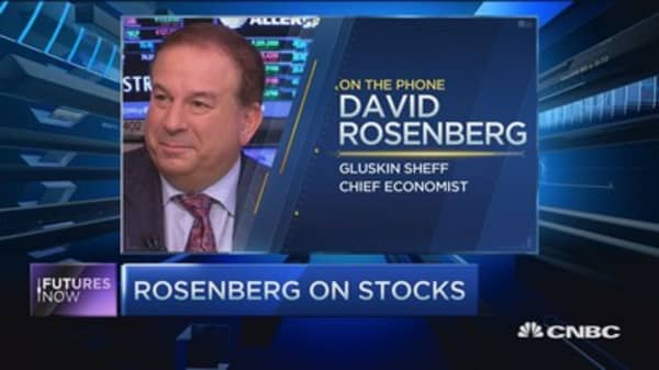 Rosenberg: Fed doesn't have 'smoking gun' to raise rates