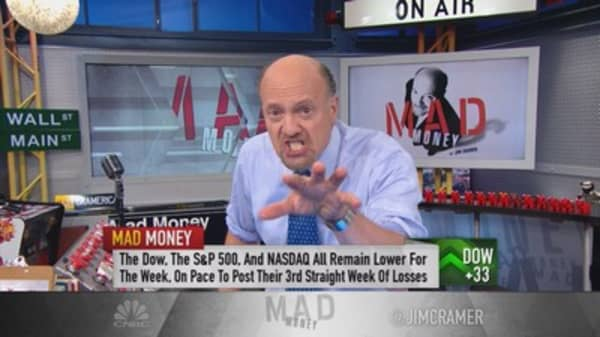 What's making Cramer so angry
