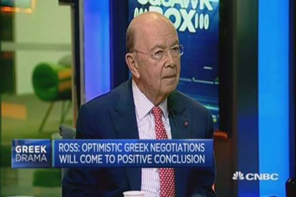 Syriza will soon face reality: Wilbur Ross