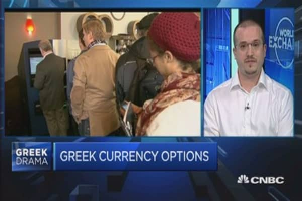 Bitcoin: A viable alternative for Greeks?