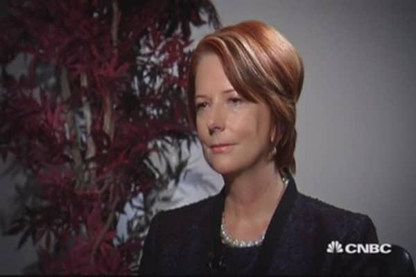 Julia Gillard on Australian politics