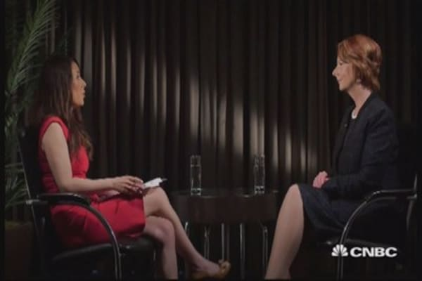Gillard on being a woman in politics