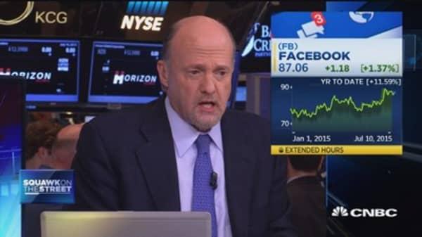 Cramer: Keep an eye on Facebook