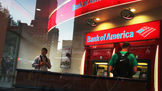 Is Buying Bank of America Corporation (NYSE:BAC) Here Good Idea?