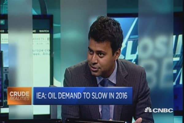 Oil demand to slow in 2016