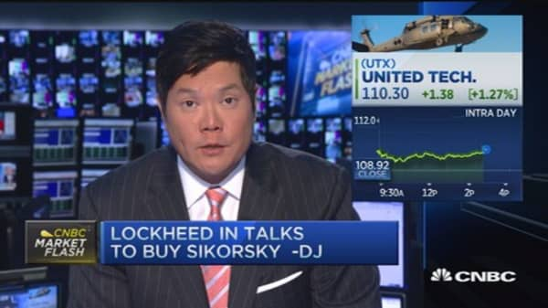 Lockheed in talks to buy Sikorsky Aircraft: DJ