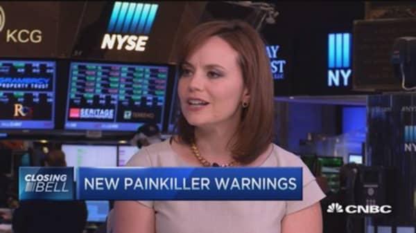 New painkiller warnings