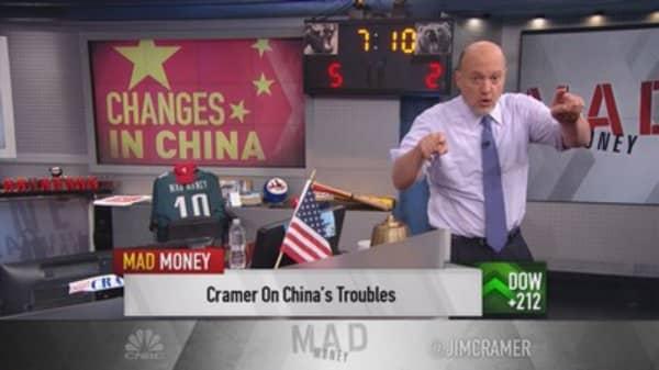 Cramer: Don't underestimate China