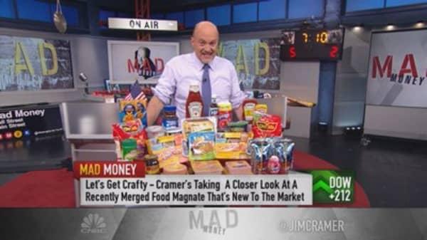 Kraft Heinz could keep climbing: Cramer