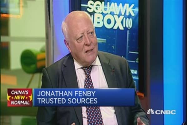 Everything comes back to China's banks: Jonathan Fenby
