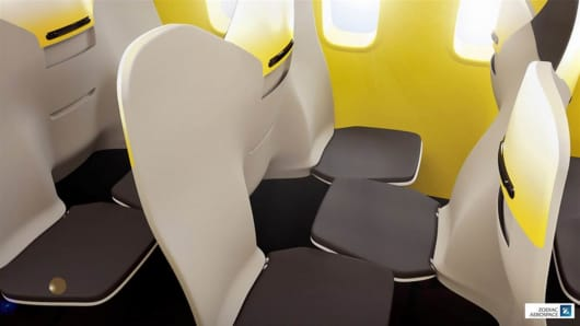 Airline seating could soon look like this.