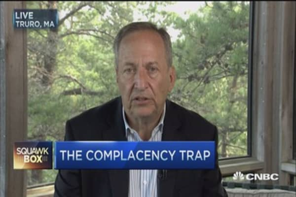 'Prudent' to keep euro zone together: Larry Summers