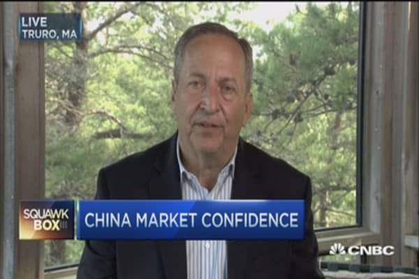 China market's confidence boost