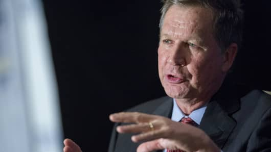 John Kasich, Republican governor of Ohio.