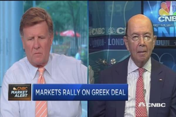 Privatization huge big deal in Greece: Wilbur Ross