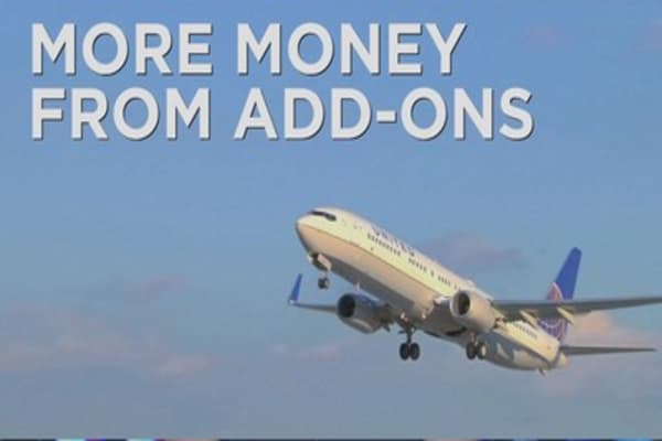 Airline add-on charges boost ancillary revenue