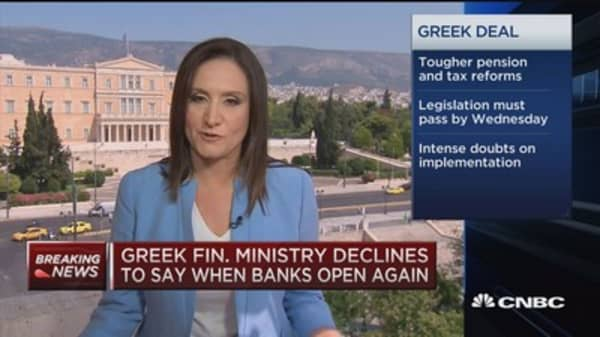 ECB declines ELA increase for Greece
