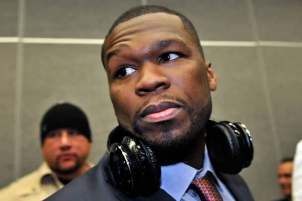 Recording artist 50 Cent