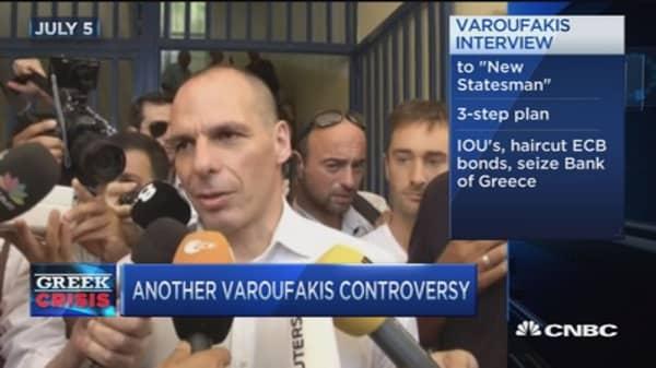 Varoufakis: IOUs, a haircut & seizing Bank of Greece