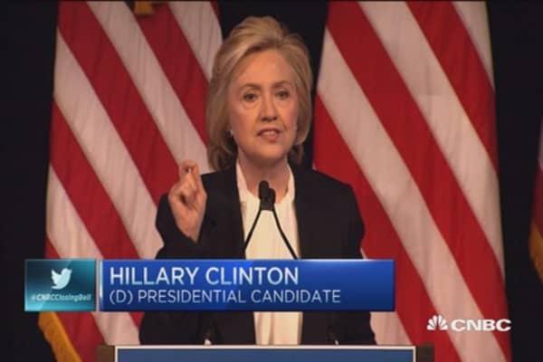 Hillary: 'Gig' economy raises hard questions