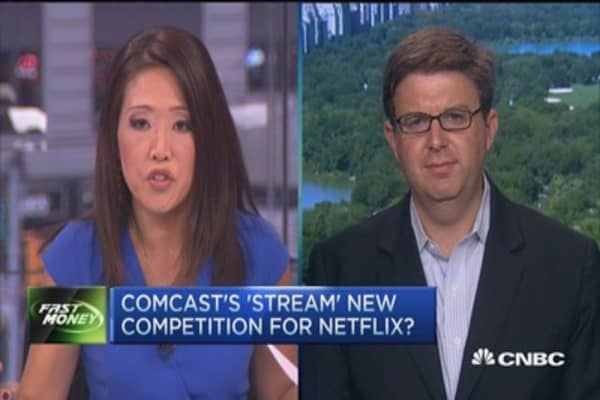 Comcast's 'Stream' to benefit Netflix: Analyst