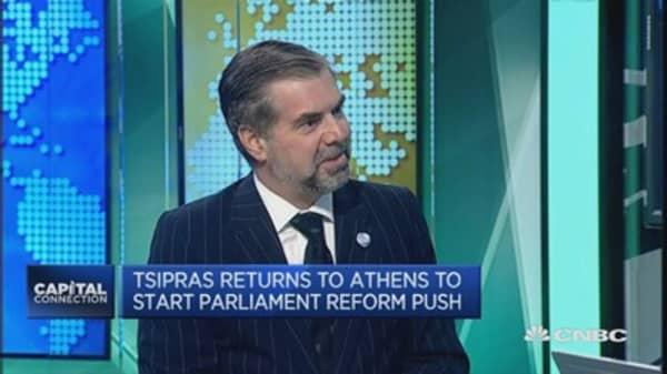 Tsipras remains a macho figure: Julius Baer