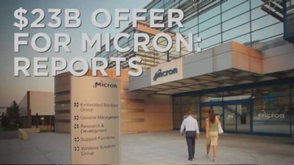Tsinghua Unigroup makes $23B bid for Micron