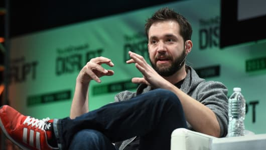 Alexis Ohanian, Co-Founder and Executive Chair of Reddit.