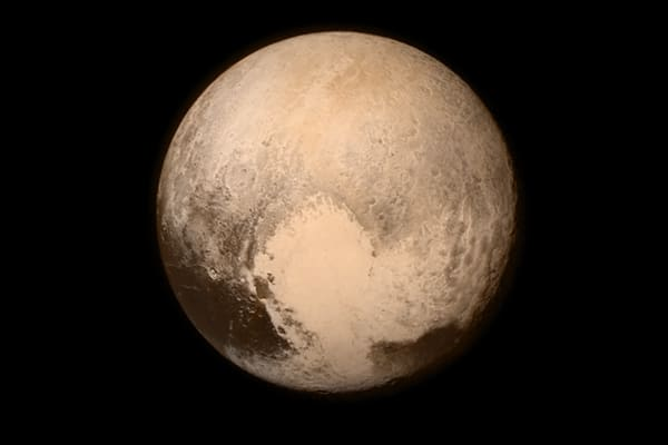 In this handout provided by the National Aeronautics and Space Administration (NASA), the dwarf planet Pluto.