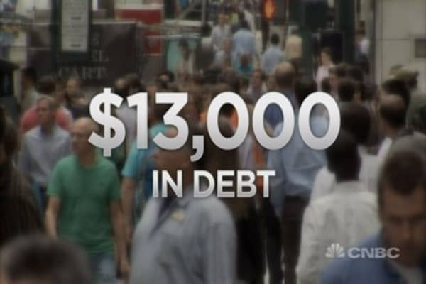 Millennials & money: Dealing with debt