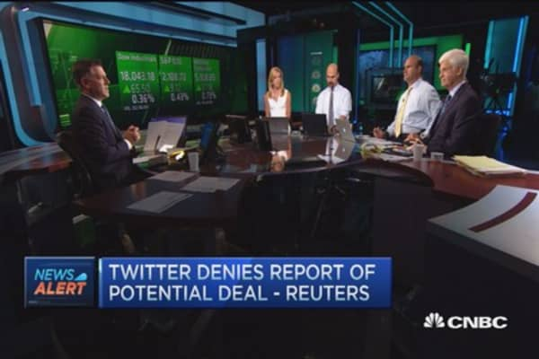 Twitter denies report of takeover deal: Reuters