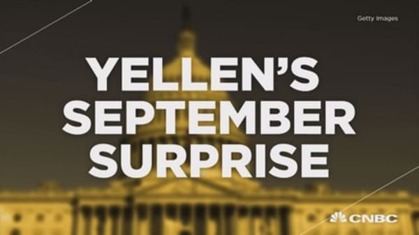 Yellen's September Surprise