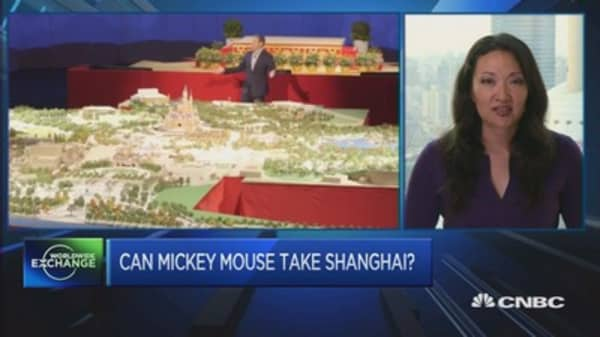 Why Mickey Mouse can win Shanghai: Iger