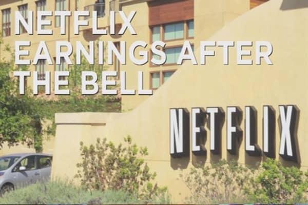 Netflix reports quarterly earnings