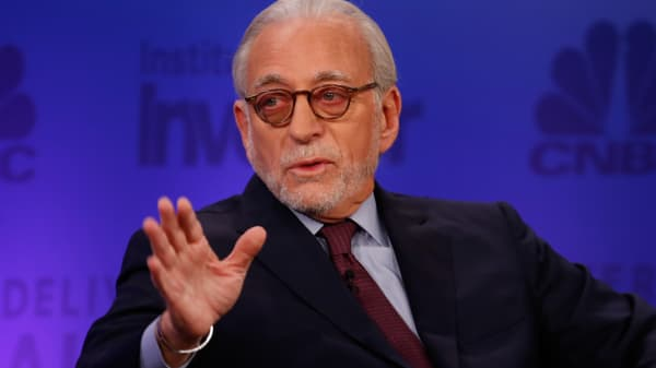 Nelson Peltz at Delivering Alpha 2015 in New York on July 15, 2015.